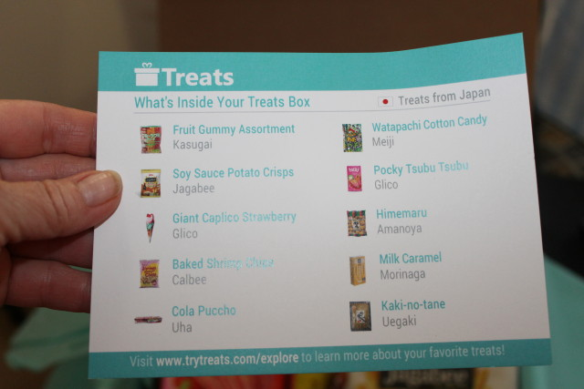 Subscription Box Try Treats from Around the World #holidaygiftguide2015 #internationalsnacks