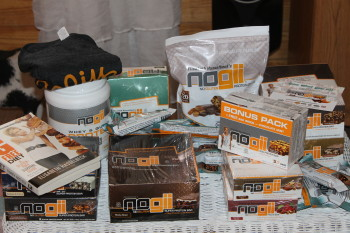 Peanut Butter and Chocolate High Protein Snack #nogii  #stockingstuffers #holidaygiftguide2015
