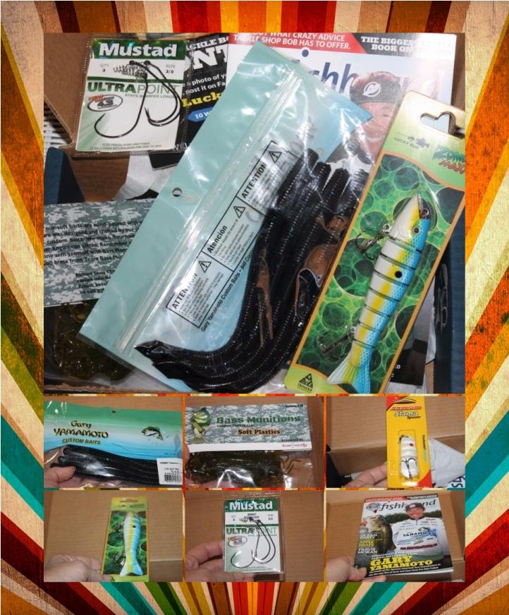 Lucky Tackle Box Subscription Box #luckytacklebox #giftsformen #holidaygiftguide2015