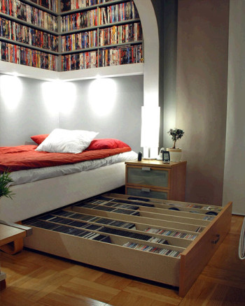 Genius Under-the-bed Organization Ideas