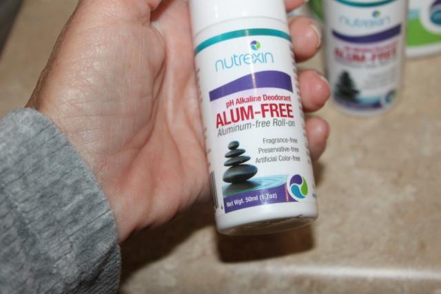 #momsmeet #NutrexinUSA Nutrexin Alum-Free Roll-On Deodorant