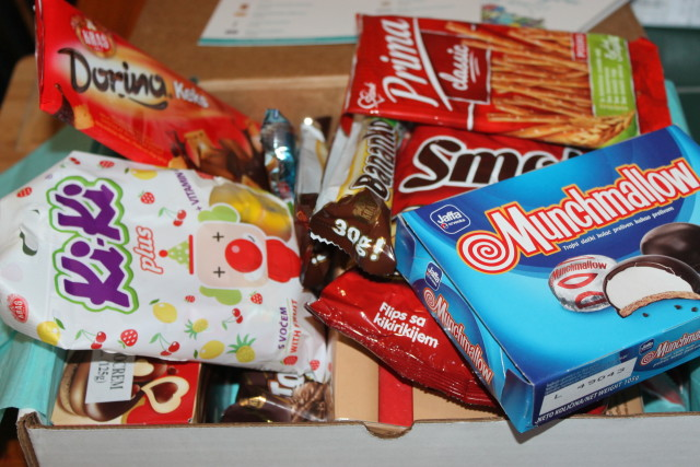 Subscription Box Treats from Serbia, Croatia #internationalsnacks #TryTreats #holidaygiftguide2015