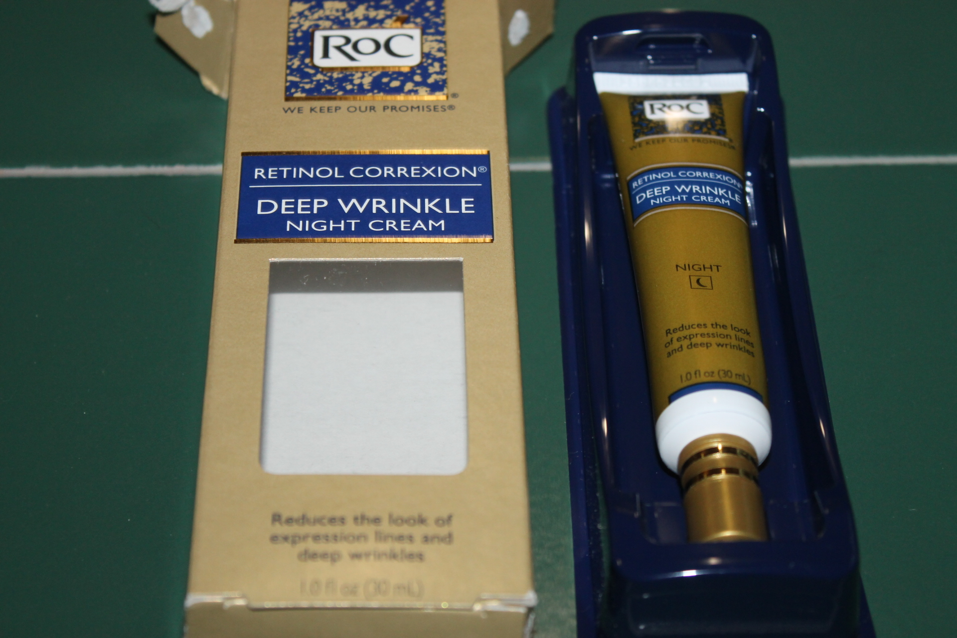 RoC® RETINOL CORREXION® Deep Wrinkle Night Cream #RoCRetinolResolution #IC (ad)