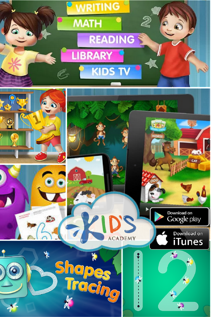 Kids Academy FREE Google Play & iTunes  App #MomBuzz #FREEKidsApp