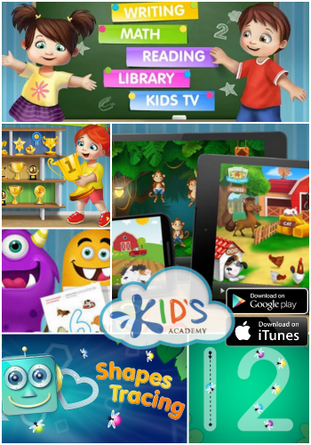 Montessori Learning with Kids Academy FREE Apps! Google Play & iTunes #MomBuzz #FREEKidsApp