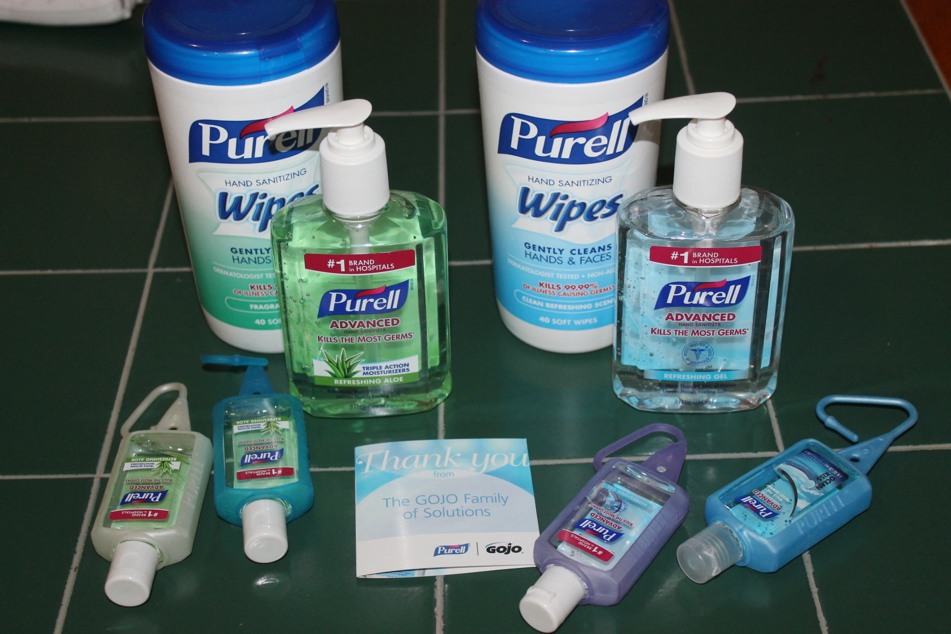 Germ Free Me with @Purell #shopletreviews