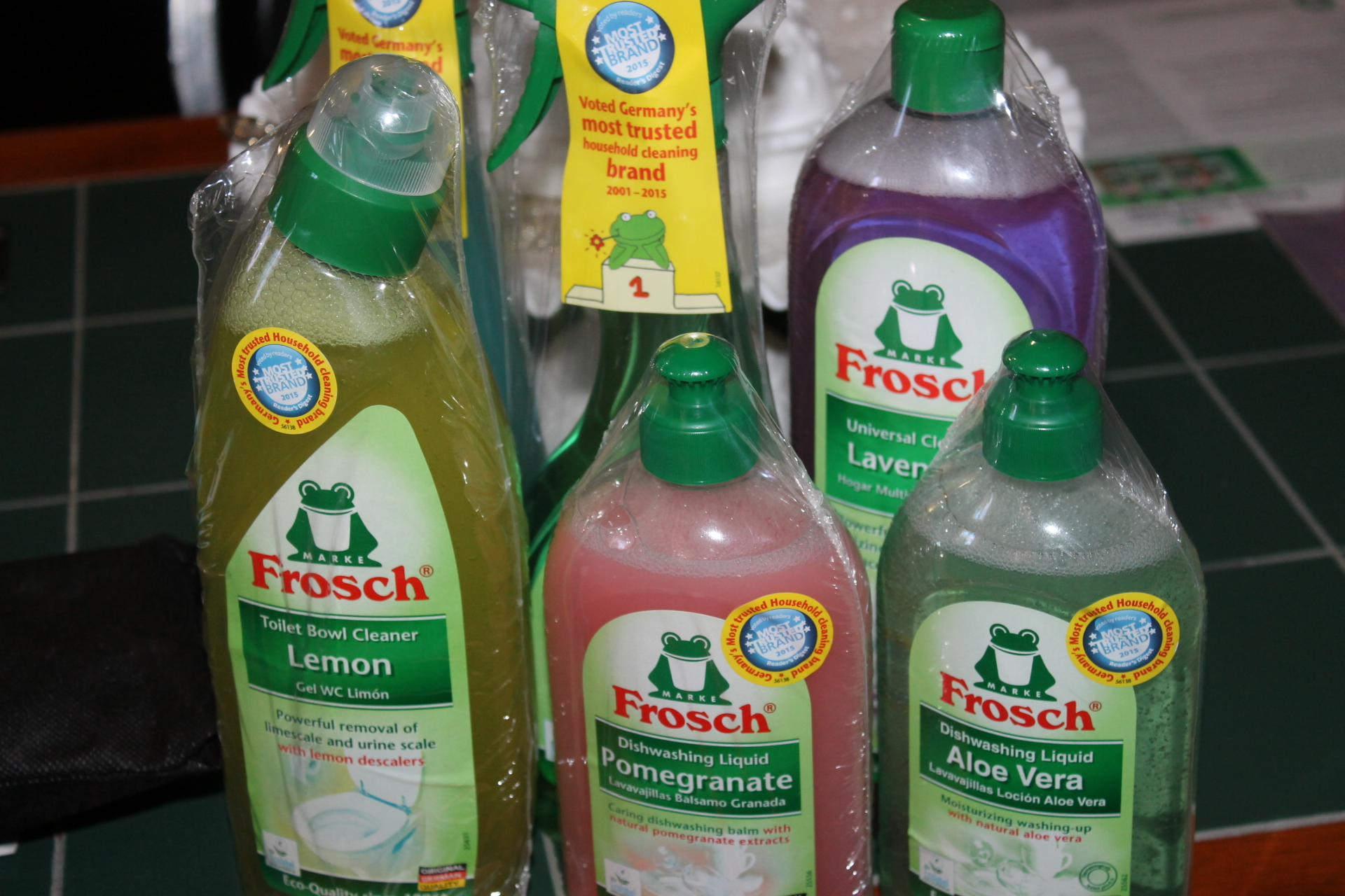 Frosch environmentally friendly cleaning products #MomsMeet #Frosch