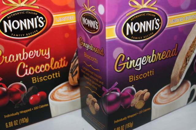 Nonni's Biscotti Limited Edition Holiday Flavors