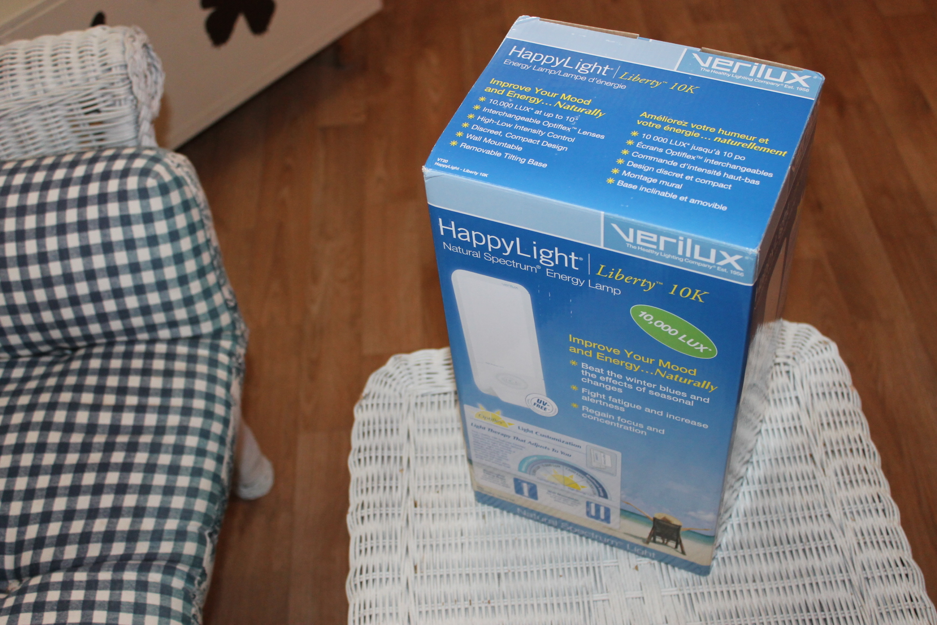 Giveaway, Happy Light equals Happy Life #verilux #win $100 value