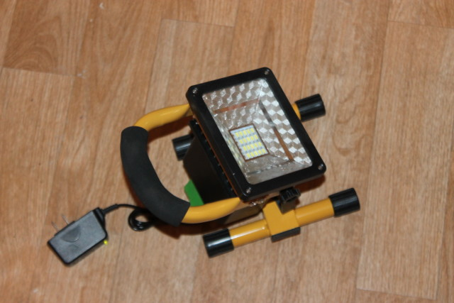 LED Portable Rechargeable Flood Outdoor Spotlights #light