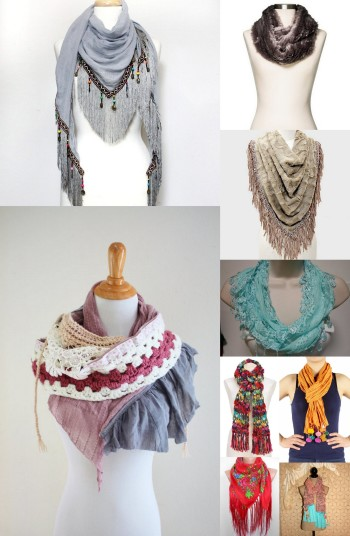 Boho Scarves For Every Budget  $5 to $50