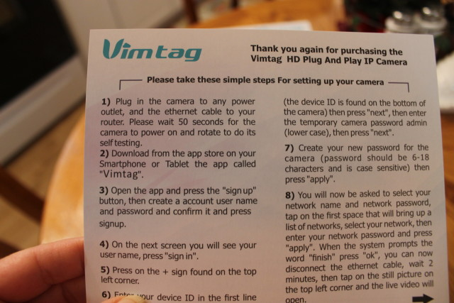 Vimtag Wireless Video Monitoring, Surveillance, security camera #Vimtag