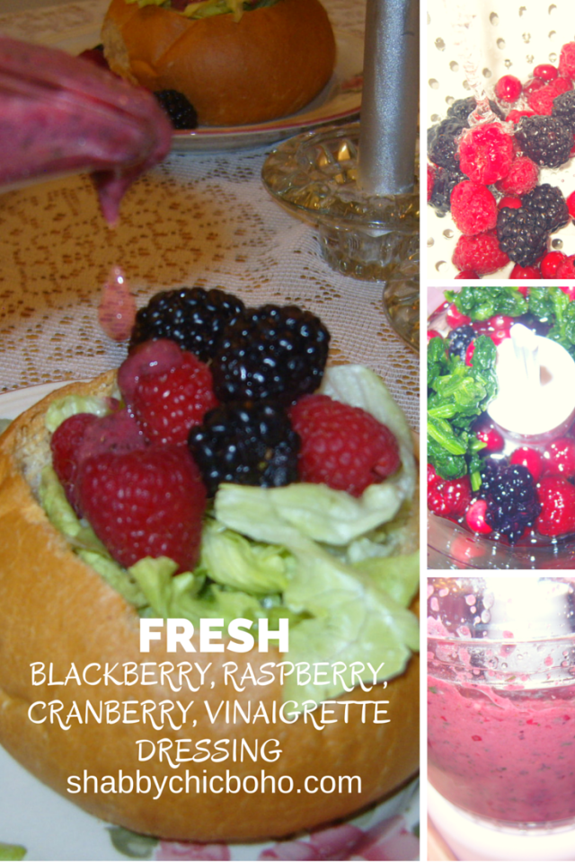Bertolli Italian Meals Plus Fresh Blackberry, Raspberry, Cranberry, Vinaigrette Dressing Recipe