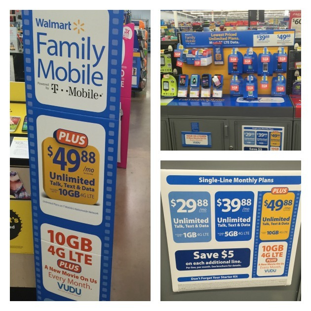 Data And A Movie with Walmart Family Mobile Plus!