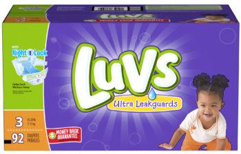 Save $7.00 Luvs Diapers + Ibotta App #SharetheLuv, #ad