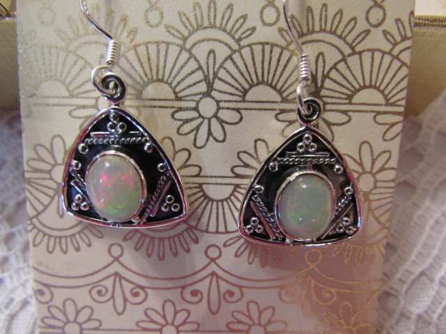 Boho Chic Sterling Silver Ethiopian Earrings #SitaraCollections