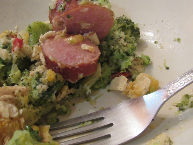 Broccoli Casserole Recipe with Hillshire Farm Smoked Sausage