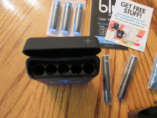 blu PLUS+ e-Cig Rechargeable Kit has been redesigned