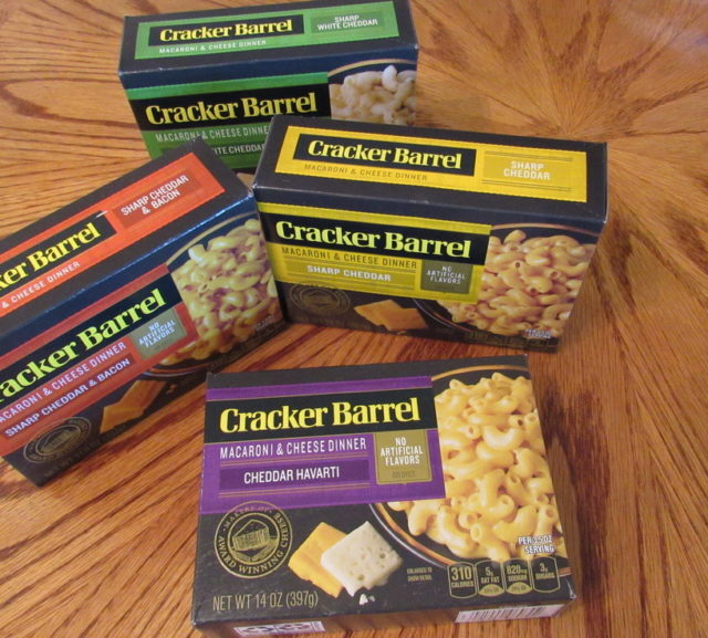 Review, Giveaway + NEW Coupon: Cracker Barrel Macaroni & Cheese