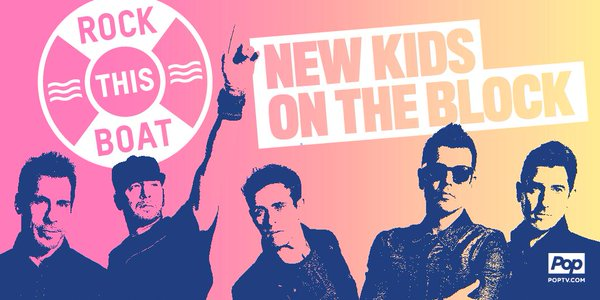 """Rock this Boat"" season two With New Kids on the Block. RockThisBoat #NKOTB"