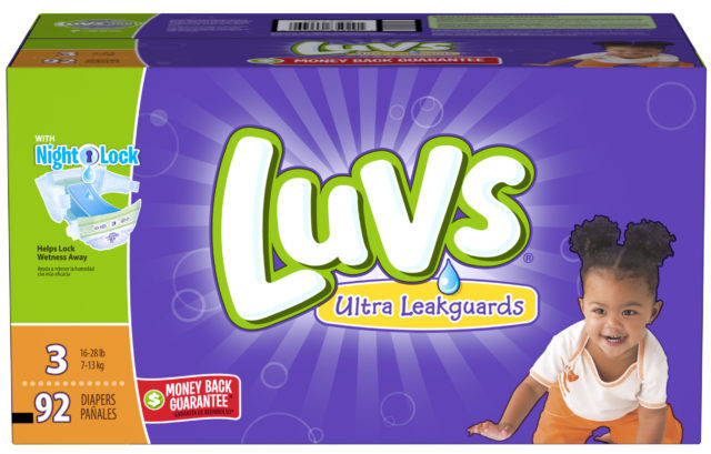 Win $100 AMEX GC, PLUS $5.00 Savings Luvs Diapers #SharetheLuv, #ad