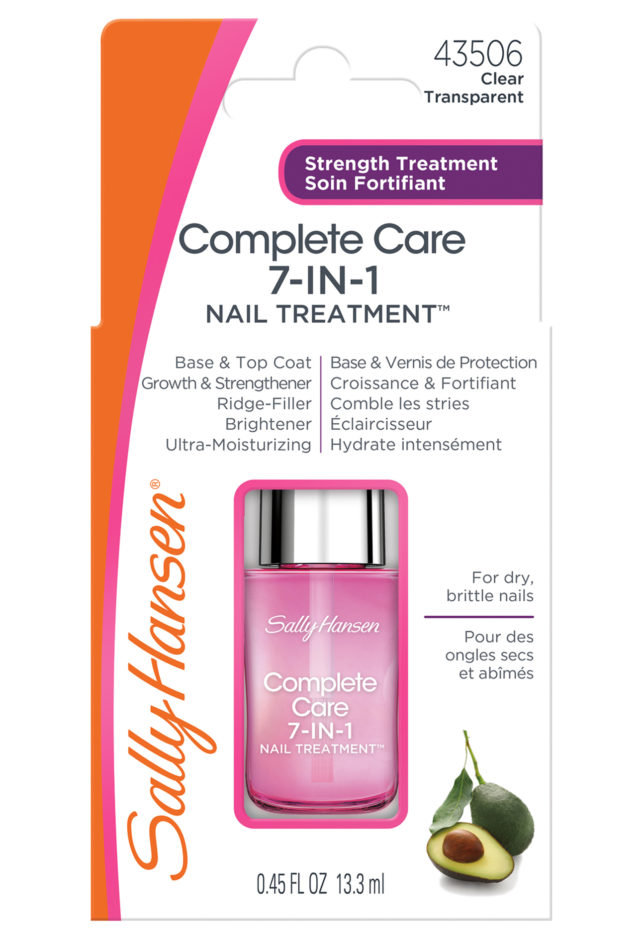 Sally Hansen's Complete Care 7-in-1 Nail Treatment #ad  #SallyStrong