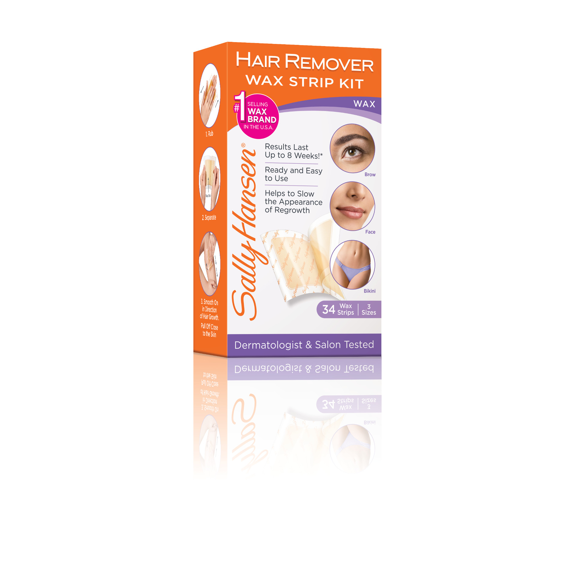 Sally Hansen Hair Remover Wax Strips Kits #ad #SimplySmooth