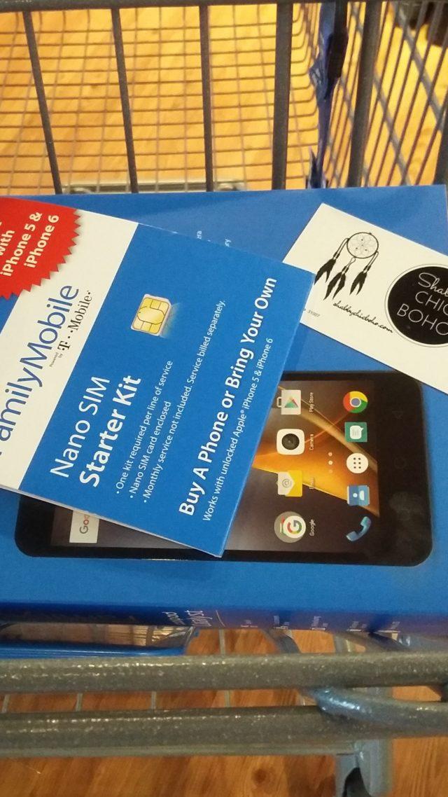 Angry for Walmart Family Mobile Subscription #AngryForSavings #ad