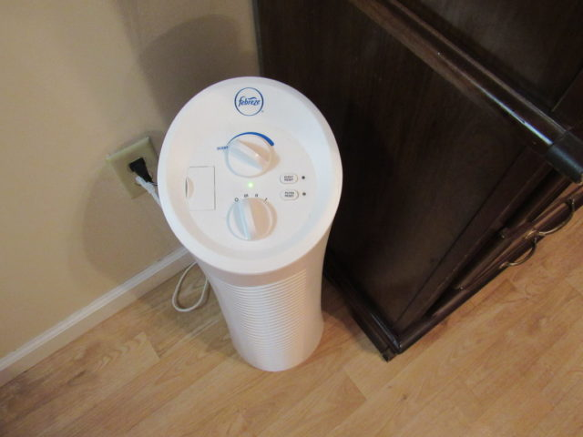 Febreze Air Purifier makes every day a relaxing day!