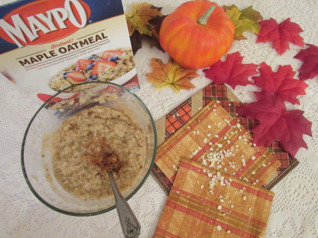 #Maypo Maple Flavored Oatmeal is back