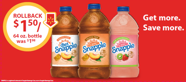 Rollback with Snapple #SnappleRollback