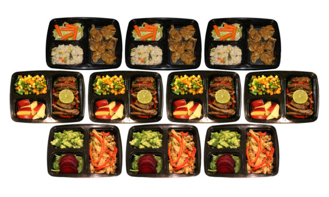 MEALTAINER - Premium 3 Compartment Plastic 10 Pack Meal Prep Containers with Lids #mealprep