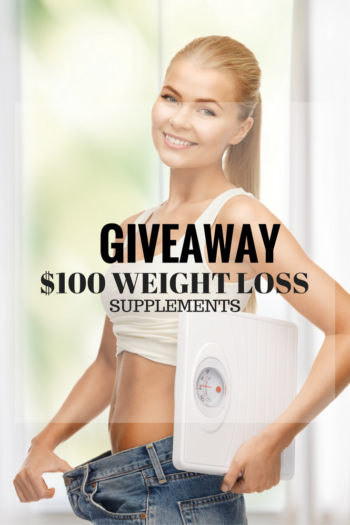 Win over $100 in weight loss supplements #Giveaway #Win #Enter #WeightLoss