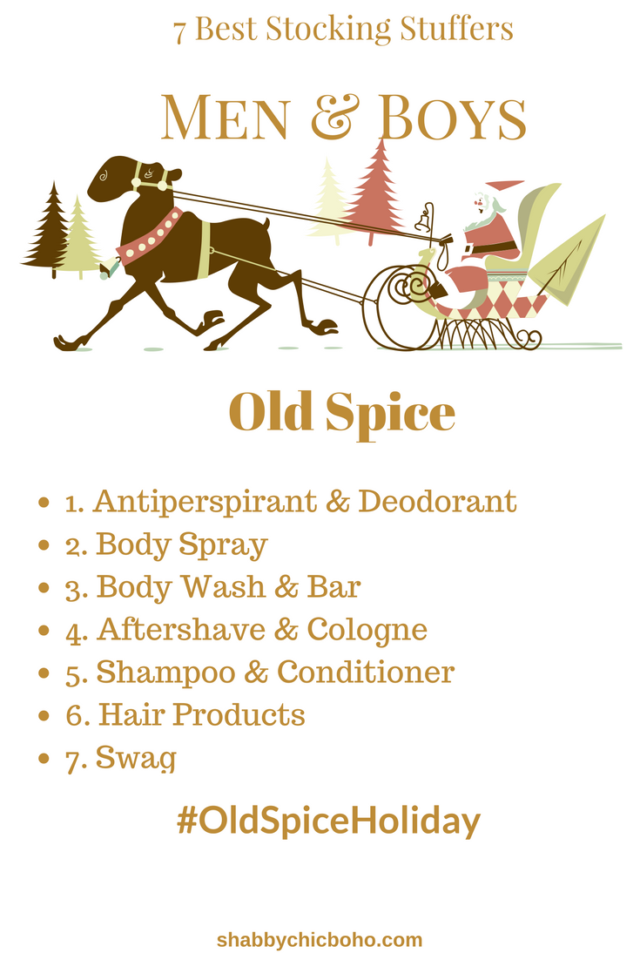 7 Best Stocking Stuffers for Men & Boys #OldSpiceHoliday #ad @OldSpice