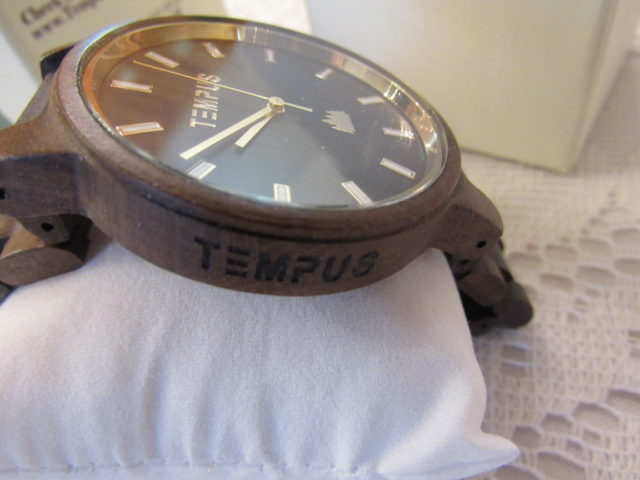 TEMPUS® Black Sandalwood Men's Wood Watch #tempuswoodwatches
