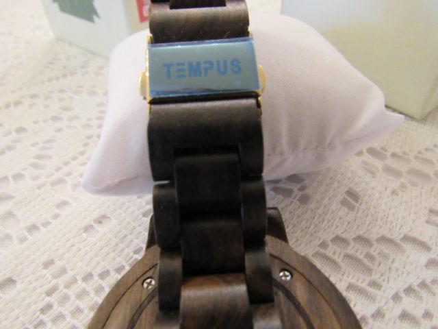 TEMPUS® Black Sandalwood Men's Wood Watch #tempuswoodwatches