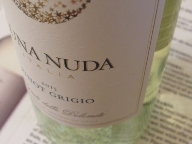 Relax and Rejuvenate with Luna Nuda Pinot Grigio!