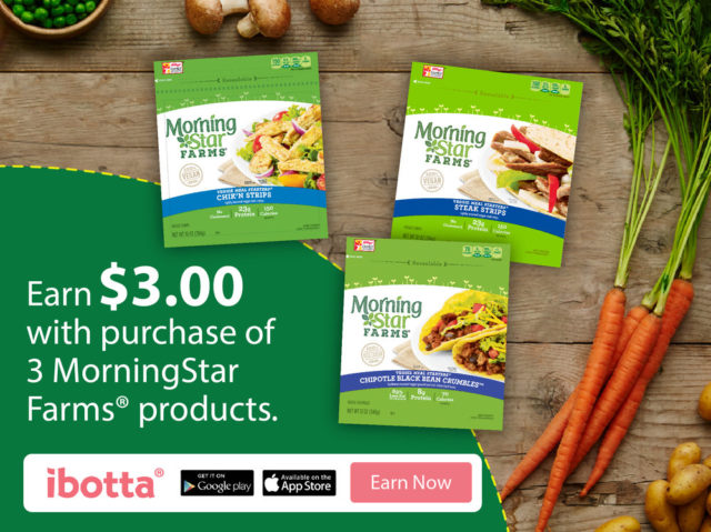 Earn $3 with MorningStar Farms® @Walmart #DailyVegolutions #CollectiveBias #ad #cbias