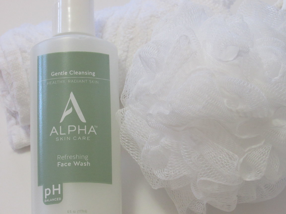 Why I Love Alpha Skin Care Refreshing Face Wash #alphaskincare @Alpha_SkinCare