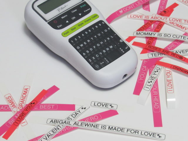 #DIY Valentines Day Labels