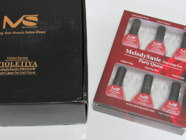 Giveaway 2 Winners @MelodySusie Home Manicure Gift Box