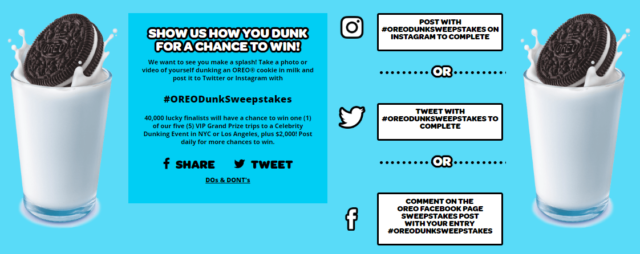 My Family's Day of Dunking With OREO  #OREODunkSweepstakes #ad