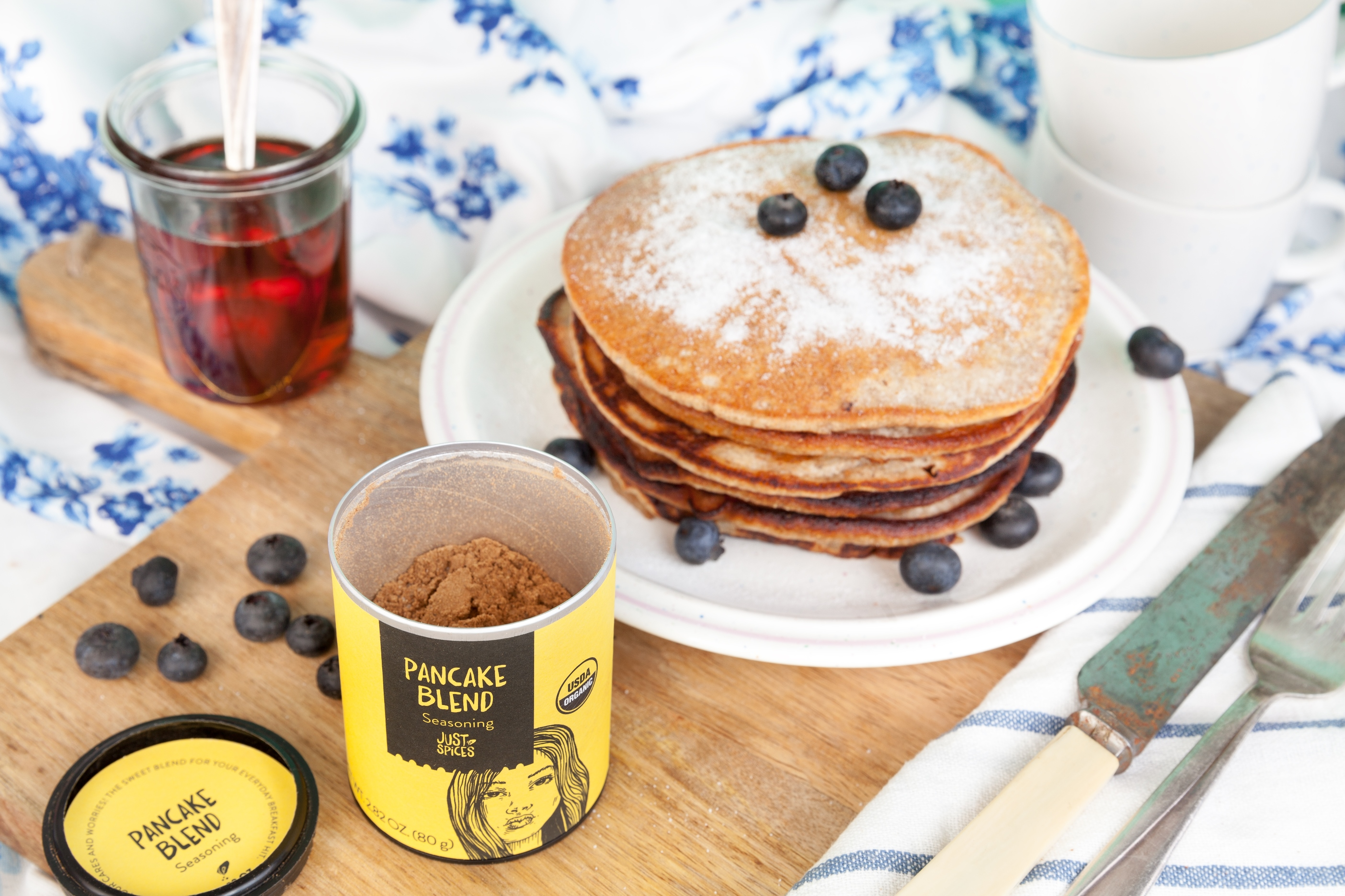 National Pancake Day, Banana Pancakes #Recipe @justspices