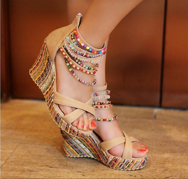 Boho Shoes on a Budget