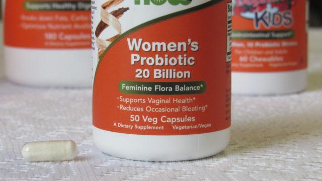 NOW® Women's Probiotic 20 Billion, Giveaway