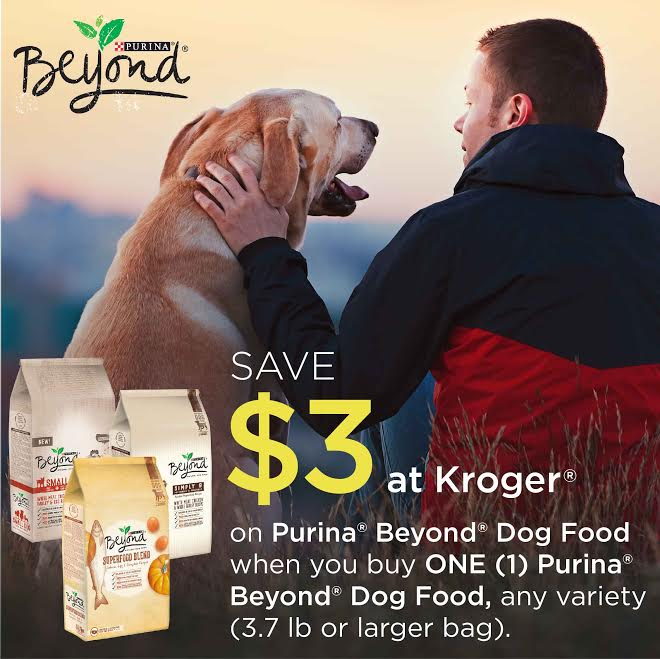Save $3 at Kroger, Purina Beyond, #RememberBeyond #pets #ad @Kroger @Purina