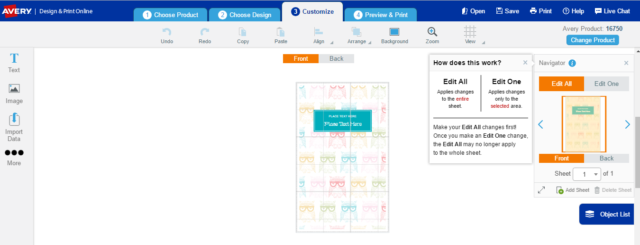 Shoplet Keeps Me Organized, Avery UltraTabs & Moveable Tab Dividers