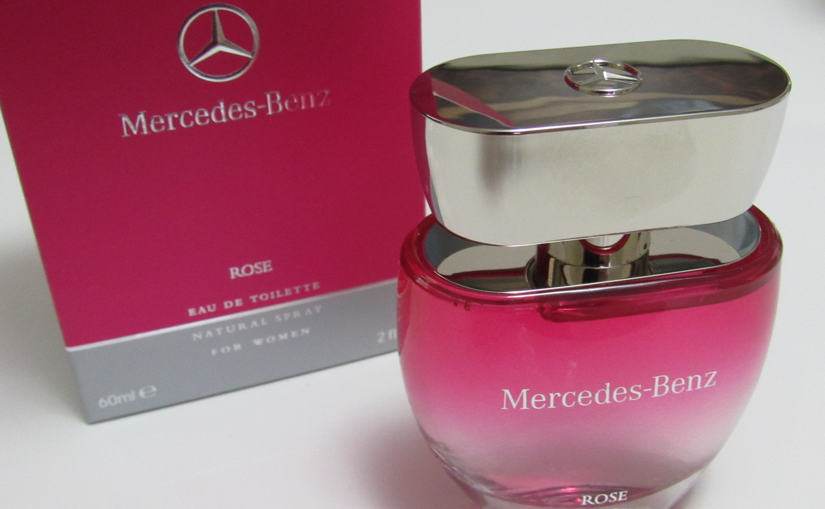mercedes benz rose for women fragrancemarket. Black Bedroom Furniture Sets. Home Design Ideas