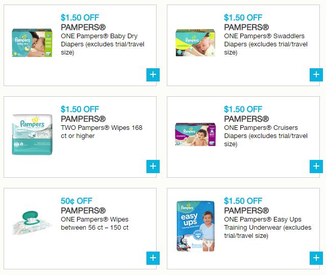 Splish splash, save your cash! #PampersCoupons