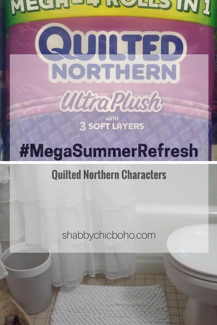 Simple Clean Light Bathroom Refresh #MegaSummerRefresh
